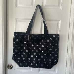 PINK Victoria's Secret Black and White Tote Bag